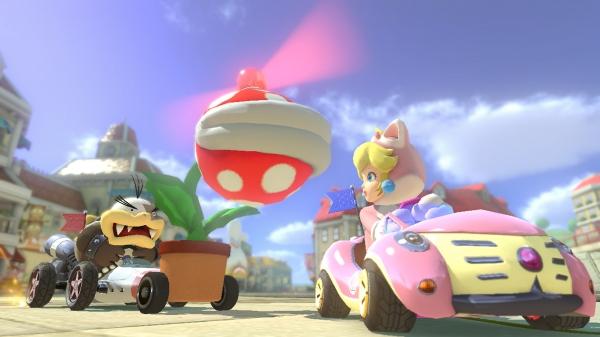Mario Kart 8 Deluxe Plante Piranha