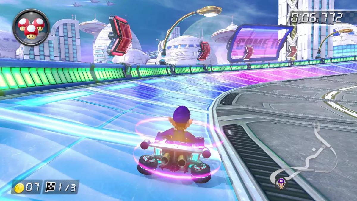 Mario Kart 8 Deluxe Mute City