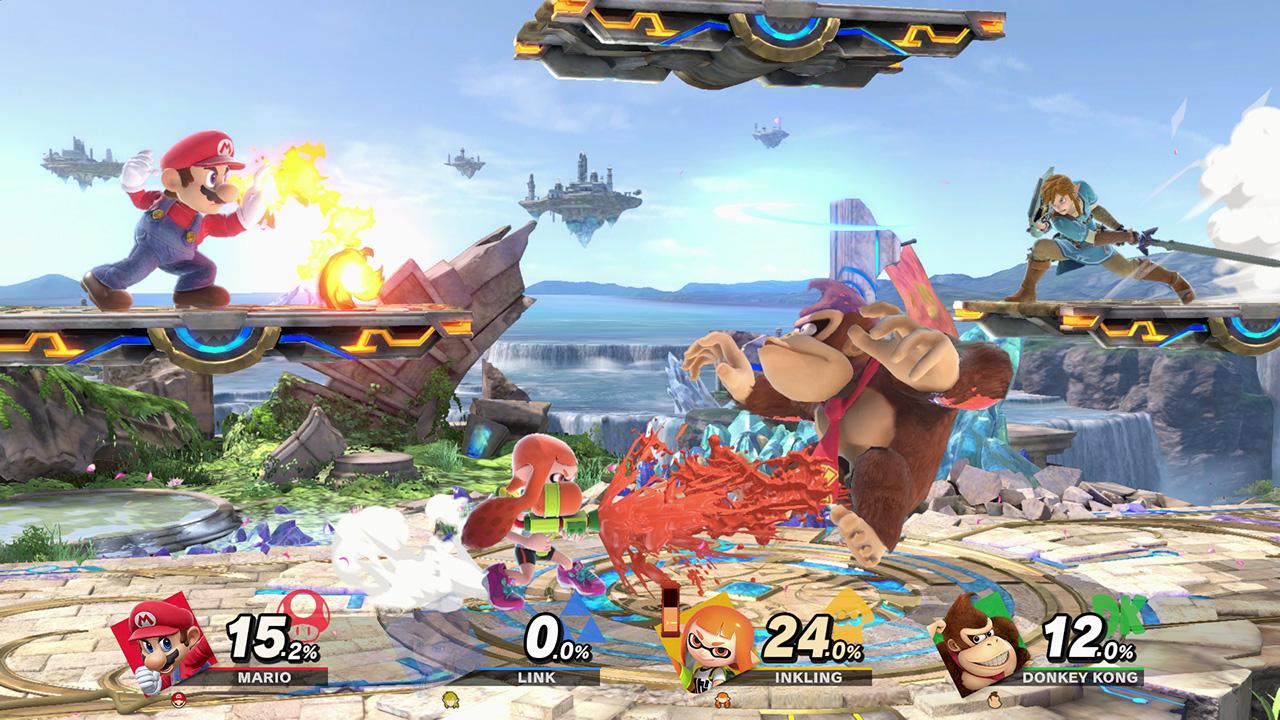 Smash Bros Ultimate combat