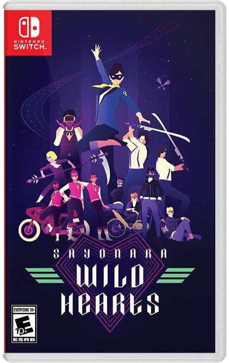 Sayonara Wild Hearts Switch Cover